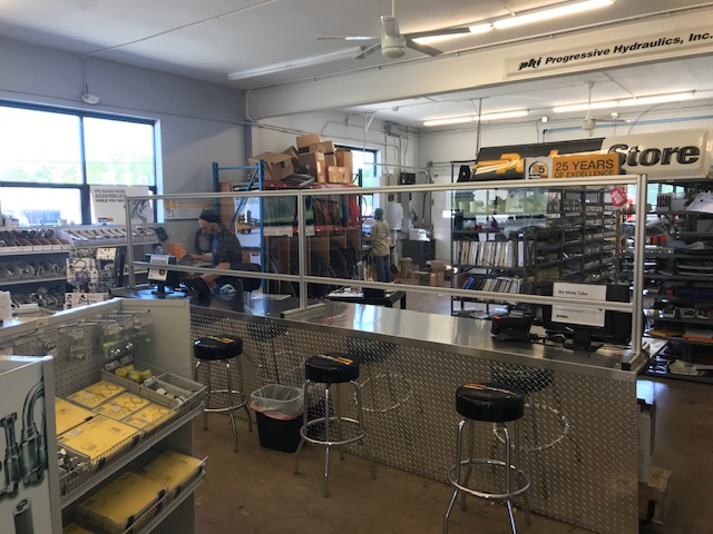 East_Hanover_ParkerStore_Counter_Barriers_for_COVID-19_Safety-Progressive_Hydraulics_Inc